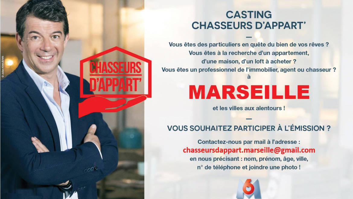 Casting Chasseurs d'appart