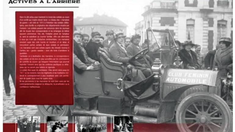 Recherche de documents pour l'exposition «Les femmes dans la Grande Guerre»