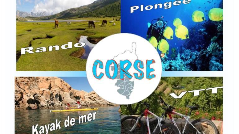 <span style='color:#8B1434;font-size:12px;'>Inscriptions 24 mars uniquement</span><br> Séjour Aventure en Corse