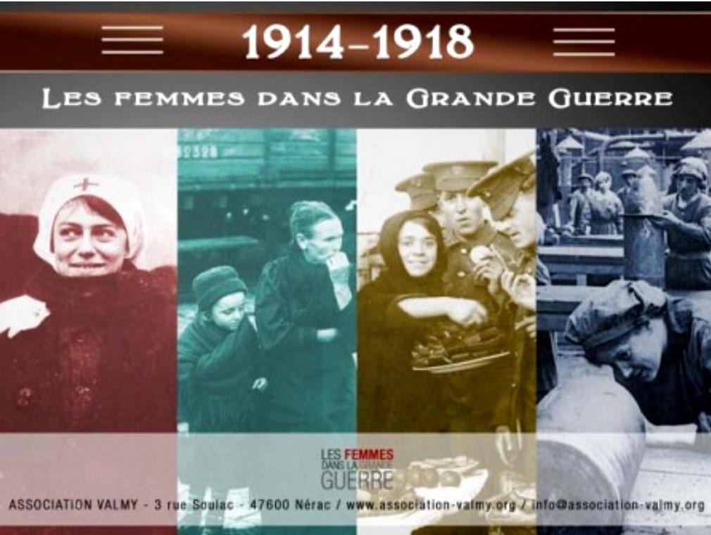<span style='color:#8B1434;font-size:12px;'>Du 8 au 11 mars, salle Monseigneur Fabre</span><br> EXPOSITION «Les Femmes dans la Grande Guerre»