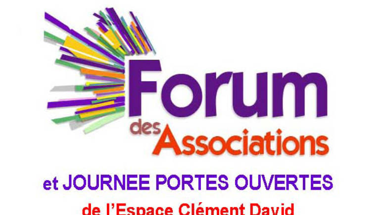 <span style='color:#8B1434;font-size:12px;'>Samedi 8 septembre</span><br> FORUM DES ASSOCIATIONS