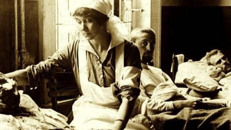 <span style='color:#8B1434;font-size:12px;'>Vendredi 5 octobre </span><br> «Les blessés au visage de la Première Guerre Mondiale»