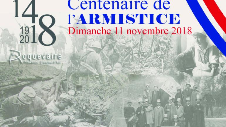 <span style='color:#8B1434;font-size:12px;'>Du 5 au 11 novembre</span><br> CELEBRATION DU CENTENAIRE DE L'ARMISTICE