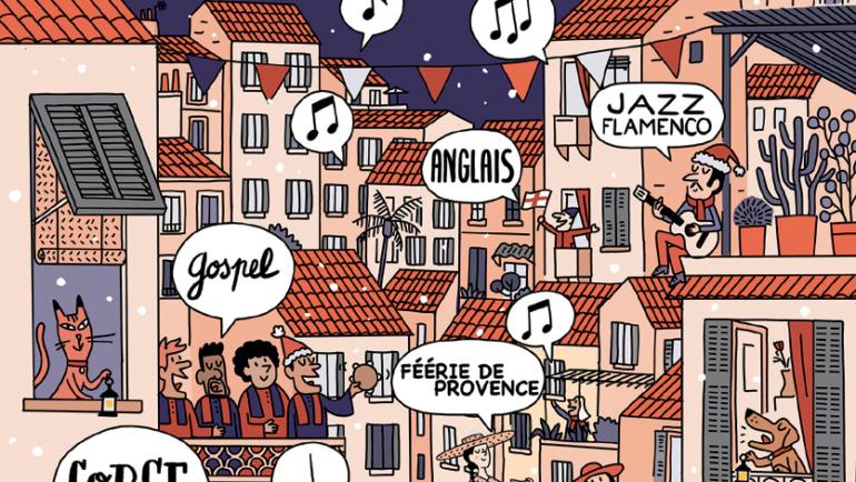 <span style='color:#8B1434;font-size:12px;'>Samedi 8 décembre </span><br> Féérie de Provence
