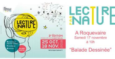 <span style='color:#8B1434;font-size:12px;'>Samedi 17 novembre à partir de 10h</span><br> Lecture par Nature