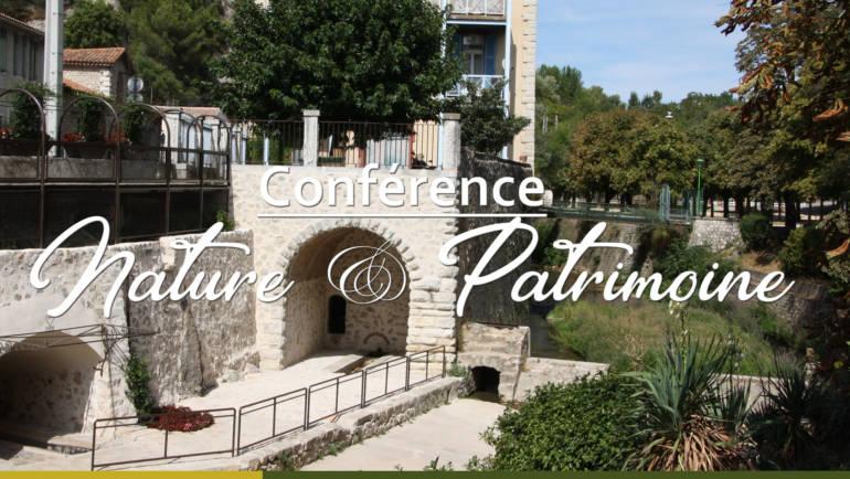 <span style='color:#8B1434;font-size:12px;'>Mardi 15 janvier</span><br> Conférence Nature et Patrimoine