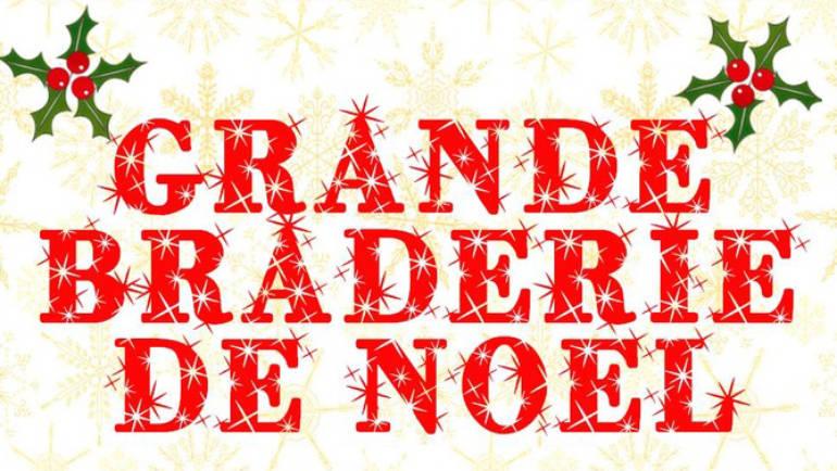 <span style='color:#8B1434;font-size:12px;'>Dimanche 25 novembre</span><br> Braderie de Noël