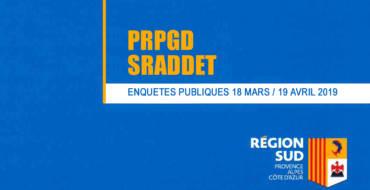 <span style='color:#8B1434;font-size:12px;'>Du 18 mars au 19 avril</span><br> Enquêtes publiques PRPGD et SRADDET