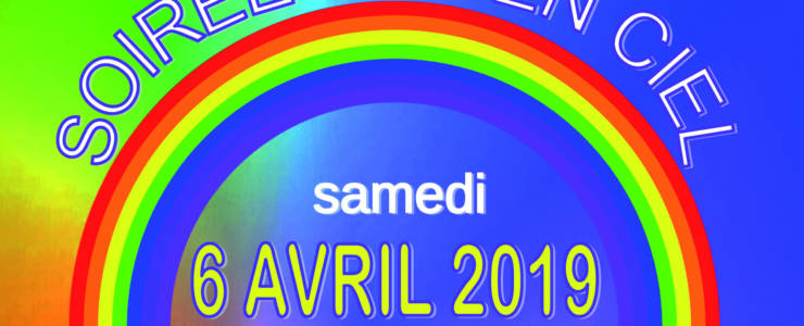<span style='color:#8B1434;font-size:12px;'>Samedi 6 avril </span><br> Soirée dansante «Arc en Ciel»