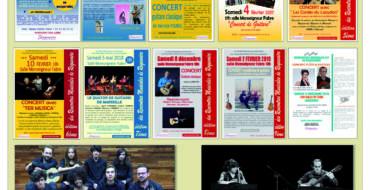 <span style='color:#8B1434;font-size:12px;'>Samedi 4 mai</span><br> 10èmes Rencontres Musicales de Roquevaire