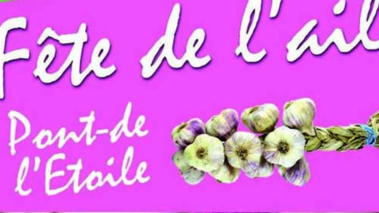 <span style='color:#8B1434;font-size:12px;'>Samedi 22 juin</span><br> La Fête de l'Ail
