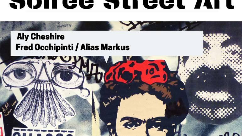 <span style='color:#8B1434;font-size:12px;'>Vendredi 7 juin à 19h</span><br> Soirée Street Art à la Bib