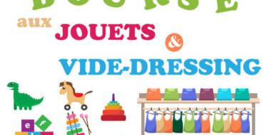 <span style='color:#8B1434;font-size:12px;'>Vide dressing et bourse aux jouets</span><br> Mois de novembre