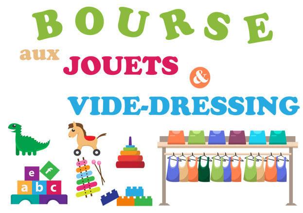 <span style='color:#8B1434;font-size:12px;'>Décembre</span><br> Vide-dressing Bourse aux jouets