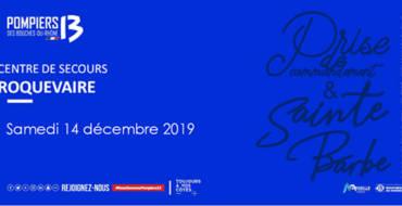 <span style='color:#8B1434;font-size:12px;'>Samedi 14 décembre</span><br> Cérémonie de la Sainte Barbe