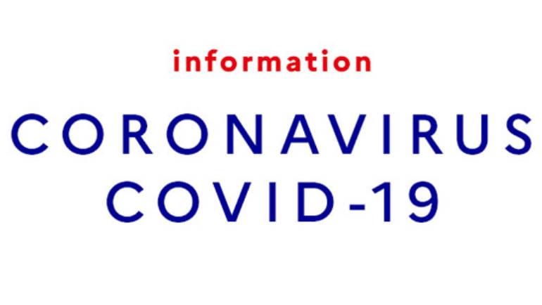 <span style='color:#8B1434;font-size:12px;'>Actualités CORONAVIRUS</span><br> INFORMATIONS