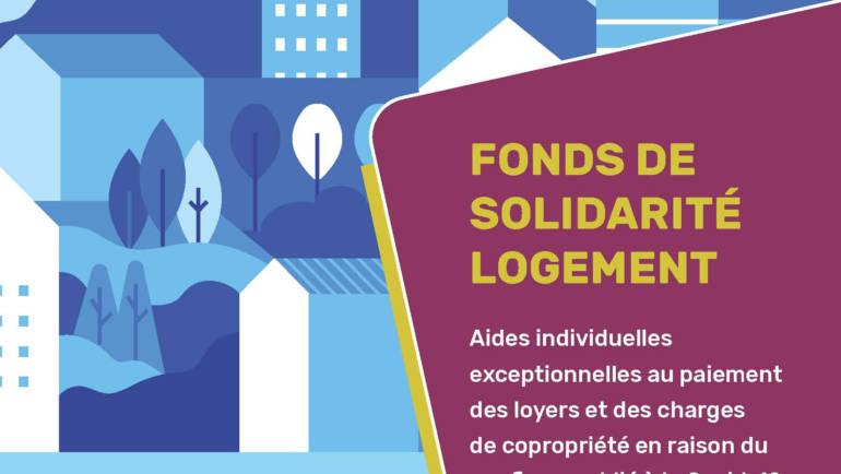 <span style='color:#8B1434;font-size:12px;'>Fonds de Solidarité de Logement</span><br> Aide exceptionnelle