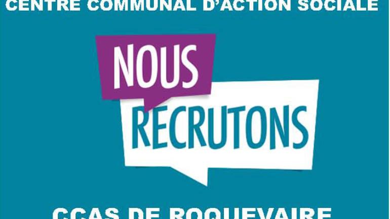 <span style='color:#8B1434;font-size:12px;'>Centre Communal d'Action Sociale (CCAS)</span><br> Recrutement