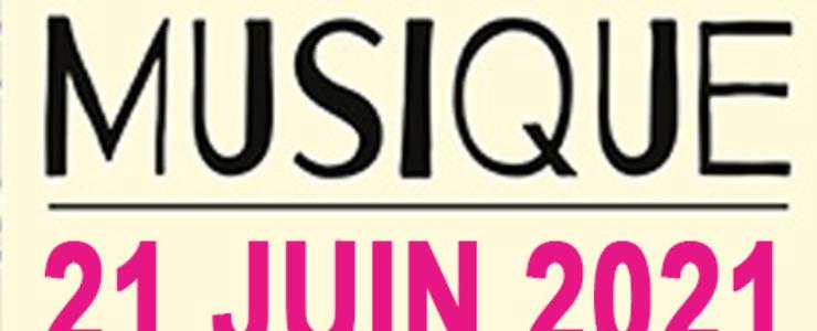 <span style='color:#8B1434;font-size:12px;'>Fête de la Musique</span><br> Lundi 21 juin 2021