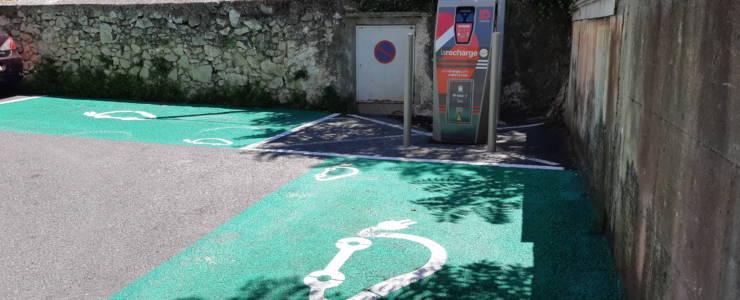Borne de recharge voitures électriques