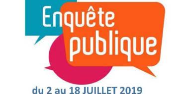 <span style='color:#8B1434;font-size:12px;'>Enquête Publique du 2 au 18 juillet 2019</span><br> Rapport et conclusions