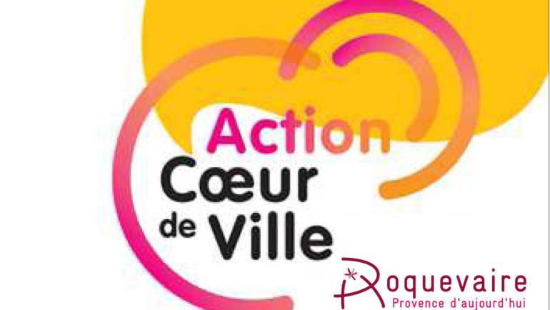 """<span style='color:#8B1434;font-size:12px;'>Plan Territorial de soutien """"Coeur de Ville""""</span><br> Communication officielle Commune de Roquevaire"""