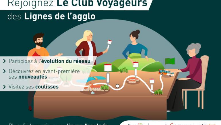 <span style='color:#8B1434;font-size:12px;'>Info Lignes de l'Agglo</span><br> Le Club des Voyageurs